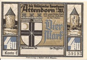 4 Mark (Attendorn) – avers