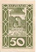 50 Heller (Atzbach) – avers