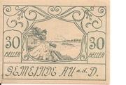 30 Heller (Au an der Donau) -  avers
