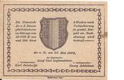 20 Heller (Au an der Donau) -  revers