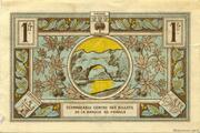 1 franc - Chambre de Commerce d'Aubenas [07] – revers