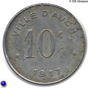 10 Centimes Ville d'Auch 1917 [32] – revers