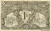 1 franc - Chambre de Commerce d'Auch [32] < sans filigrane> – revers