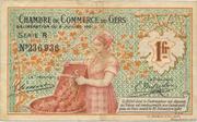 1 franc - Chambre de Commerce d'Auch [32] – avers
