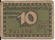 10 Pfennig (Auerbach ) – avers