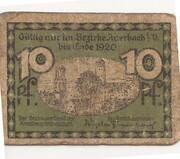 10 Pfennig (Auerbach ) – revers