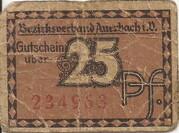 25 Pfennig (Auerbach ) – avers