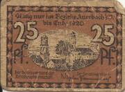 25 Pfennig (Auerbach ) – revers