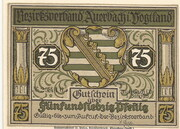 75 Pfennig (Auerbach) – avers