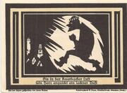 75 Pfennig (Auerbach) – revers