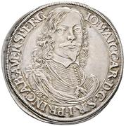 1 thaler Johann Welkard – avers