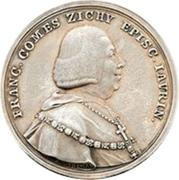 Medal - Sekundiz of Raab Franz Graf von Zichy (Bishopric of Auersperg) – avers