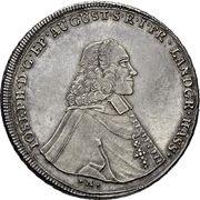 1 Thaler - Joseph von Hessen – avers