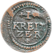 1kreuzer Heinrich V de Knörringen – revers