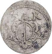 ½ Kreuzer - Heinrich V. von Knöringen – avers
