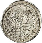 2 Kreuzer - Alexander Sigismund von Pfalz-Neuburg – avers