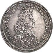 ½ Thaler - Alexander Sigismund von Pfalz-Neuburg – avers