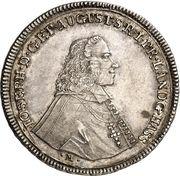 ½ Thaler - Joseph von Hessen-Darmstadt – avers