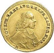 1 Ducat - Joseph von Hessen-Darmstadt – avers