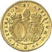 1 Ducat - Joseph von Hessen-Darmstadt – revers