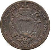 ¼ Kreuzer - Clemens-Wenzel von Sachsen-Polen – avers