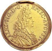 10 Ducat - Alexander Sigismund von Pfalz-Neuburg – avers