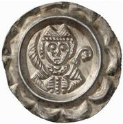 1 Brakteat - Hartwig II. von Hirnheim – avers