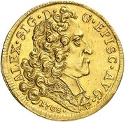 2 ducat Alexandre Sigismund du Palatinat-Neufchateau – avers