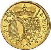 2 ducat Alexandre Sigismund du Palatinat-Neufchateau – revers