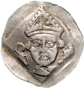 1 Pfennig - Friedrich III. von Hohenzollern – avers
