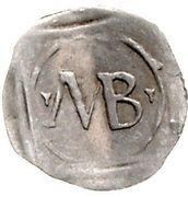 1 Pfennig - Friedrich III. von Hohenzollern – revers