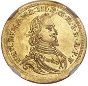 1 ducat Ferdinand III. – revers