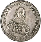 1 Taler - Gustav II Adolf (Occupation suédoise) -  avers