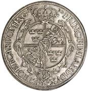 1 Taler - Gustav II Adolf (Occupation suédoise) -  revers