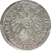 2 Kreuzer / ½ batzen - Ferdinand II – revers