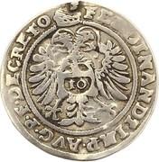 10 kreuzer Ferdinand I – revers