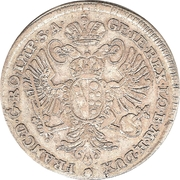 20 kreuzer Franz I – revers