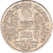 20 kreuzer Franz I – avers