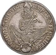 ½ Thaler - Ferdinand II – revers