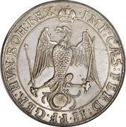 ½ Taler - Ferdinand II – revers
