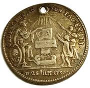 1 ducat (Frappe essai en argent; Confession d'Augsbourg) – avers