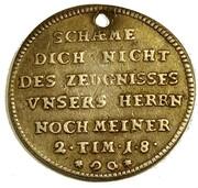 1 ducat (Frappe essai en argent; Confession d'Augsbourg) – revers