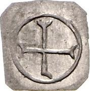 1 Pfennig (Klippe) – revers