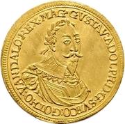 1 Ducat - Gustav II. Adolf – avers