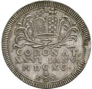 1 Ducat (Silver pattern strike; Coronation) – avers