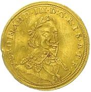 1 ducat Ferdinand III – revers