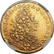 1 ducat Karl VI – avers