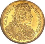 1 Ducat - Karl VI – revers