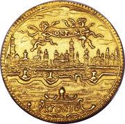 1 Ducat - Karl VI (200ème anniversaire de la confession d'Augsburg) – avers