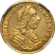 1 Ducat - Joseph II – revers